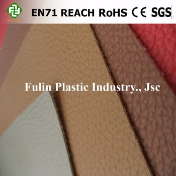 pvc synthetic leather for bag upholstery