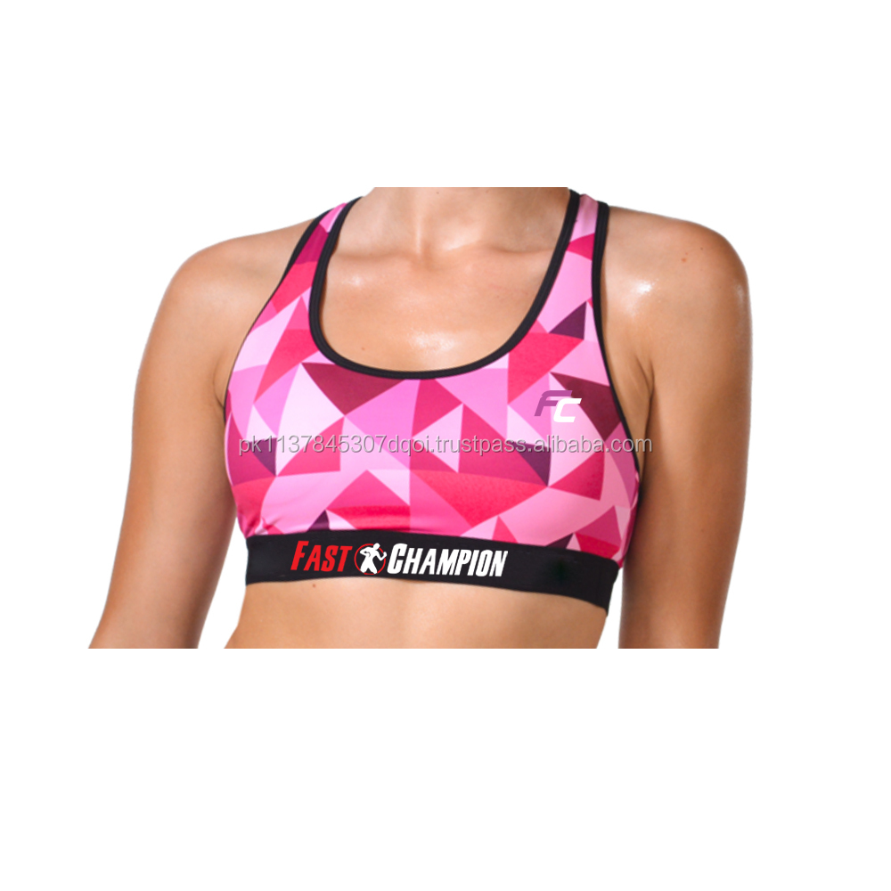 Woman Sublimated Bra