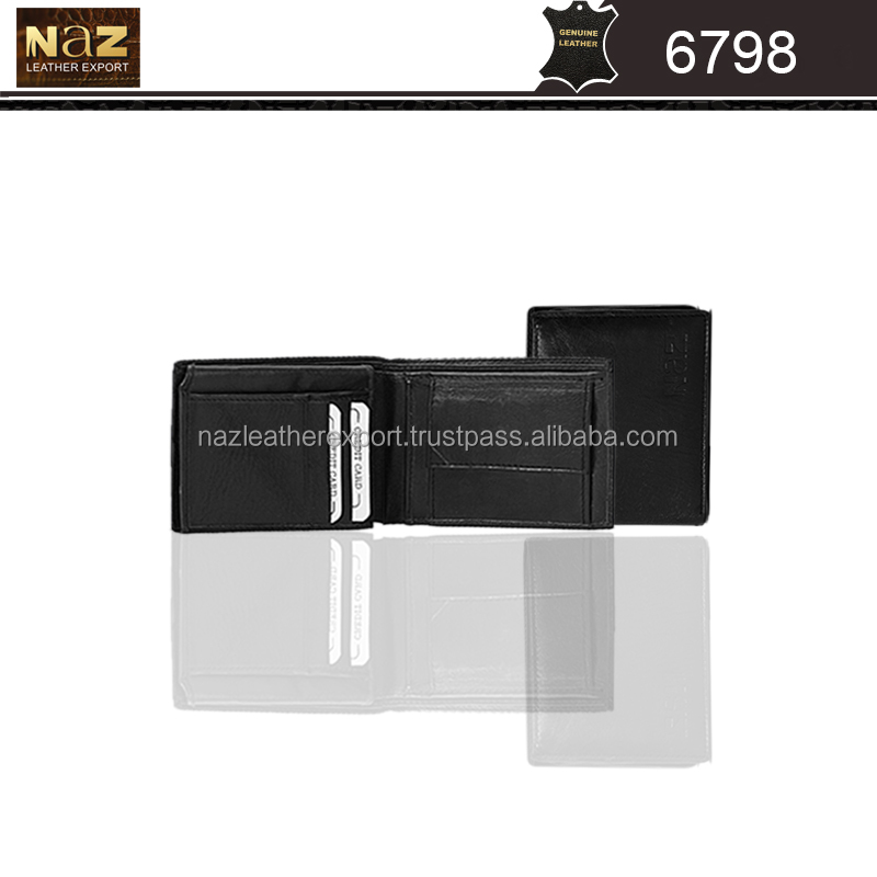 Leather Wallets with window id and various other holders
