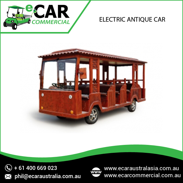Battery Operated Unique Made Electric Antique Bus