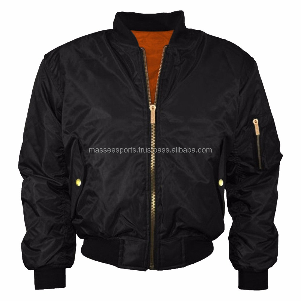 Latest Winter Fashion Apparel Trends Bomber Jacket