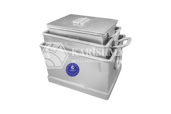 Aluminium Multi Storage box