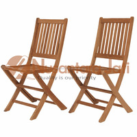 Folding Chair Teak Outdoor Patio Furniture