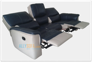Motion Recliner 3 seater Glider leather & PVC sofa with Modern Design Furniture 003706034