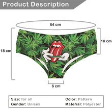 FactorytoShop (UK) Providers of Wholesale and Dropshipper Services Stylish Cute Print Womens Ladies Panties - Roll Your Weed