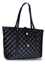 Tote Bag High Quality Quilt Tote Bags New - Black