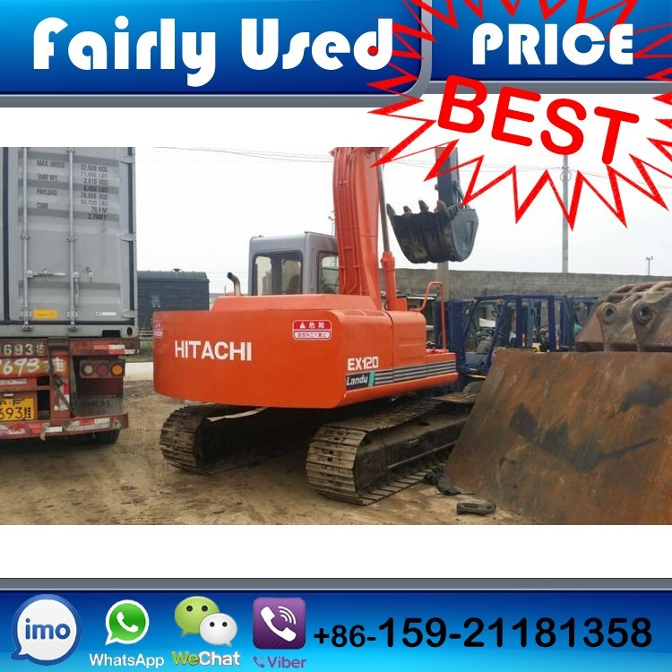 Used Excavator Hitachi EX120-1 of Hitachi Excavator EX120