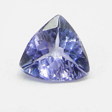 6x6mm Stone for Magic Natural Tanzanite Trillion Cut 0.06Cts Gemstone for making Jewellery IG4543