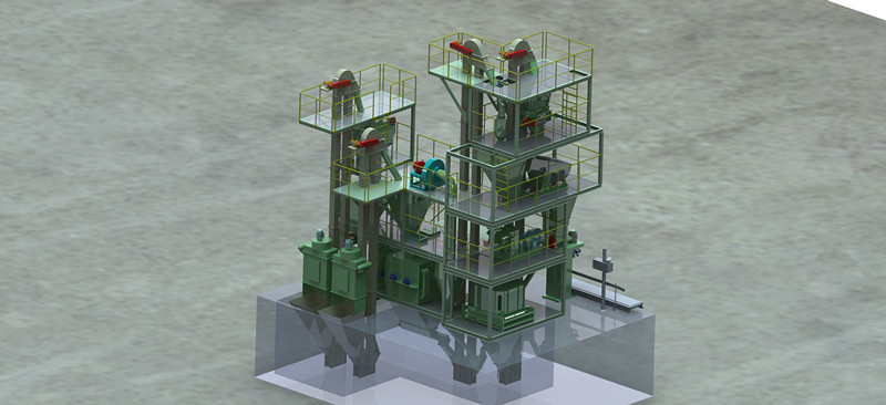 semi automatic/ automatic/ computerized high quality cattle pellet feed plant machinery