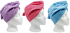 Luxury microfiber hair turban wholesale