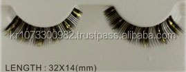 [May Queen] Flare eyelash for Strip eyelashes extension in Korean Maker (Model Number : TNB070) / Individual Eyelashes