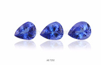 Pear Shape Deep Blue Natural Tanzanite