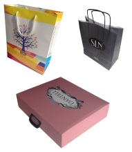 Custom Made Paper Bags and Boxes