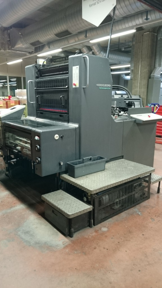 Heidleburg SM 74 Offset Machine