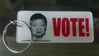 Election campaign Material (keychain/keyholder)