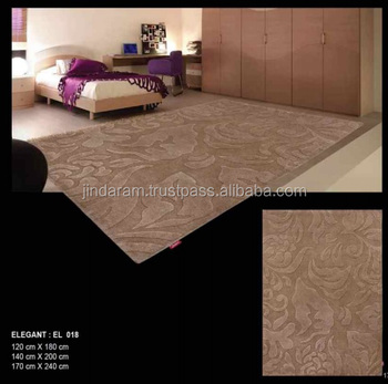 Patterned loop pile cotton carpets for banquets and hotels