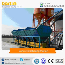 Export Quality Concrete Batching Station With High Output Capacity