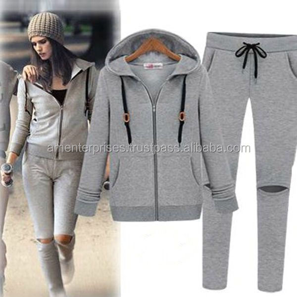2017 women Custom Sports Tracksuits - sweatsuits - tracksuit - Customized Soccer Tracksuit - men's cotton tracksuits - winter su