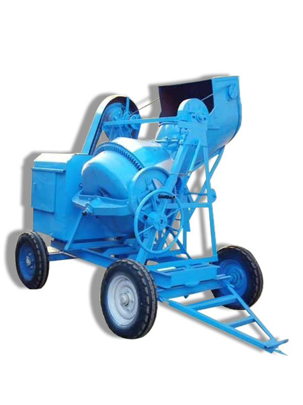 Full Bag Concrete Mixer with Mechanical Hopper-Diesel Operated