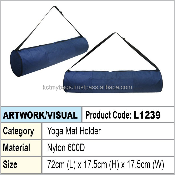 Yoga Mat Holder (blue)