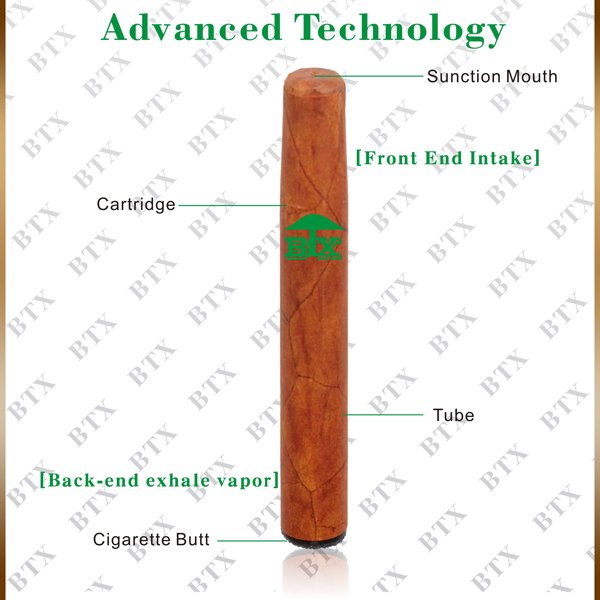 Accept OEM/ODM 1800puffs disposable atomizer e cigar 900mah e-cigar