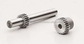 Ground spur gear Module 1.0 Chromium molybdenum steel Made in Japan KG STOCK GEARS