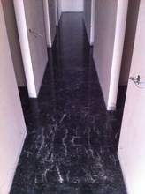 Black Marble With White Veins Tiles