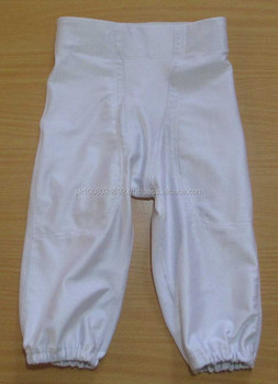 Custom American Football Pants Whiter integrated safety pad