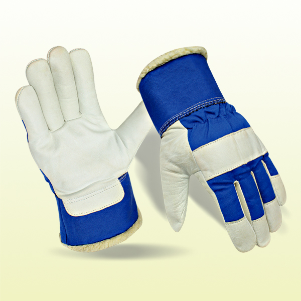 Cow Split Leather Working Gloves