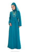 wedding gown Caftan Farasha Abaya Jalabiya designer dress k1385