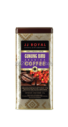 JJ Royal Coffee - Indonesian Gunung Biru Arabica GT 200 Gr