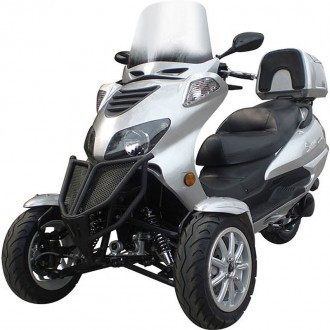 Promo Sales For Sunny 150cc Three-Wheel Trike Scooter-Two Front Wheels
