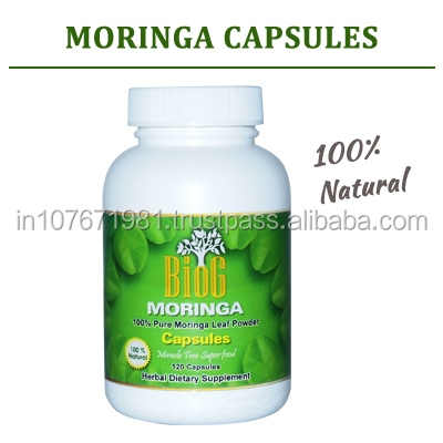 Moringa Capsule Food Supplement