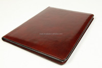 Personalized Leather Folders , Leather Writing Pad Cover , Legal A4 Size Writing Pad Cover