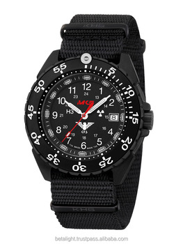 Military Tactical Enforcer Black Steel Watch