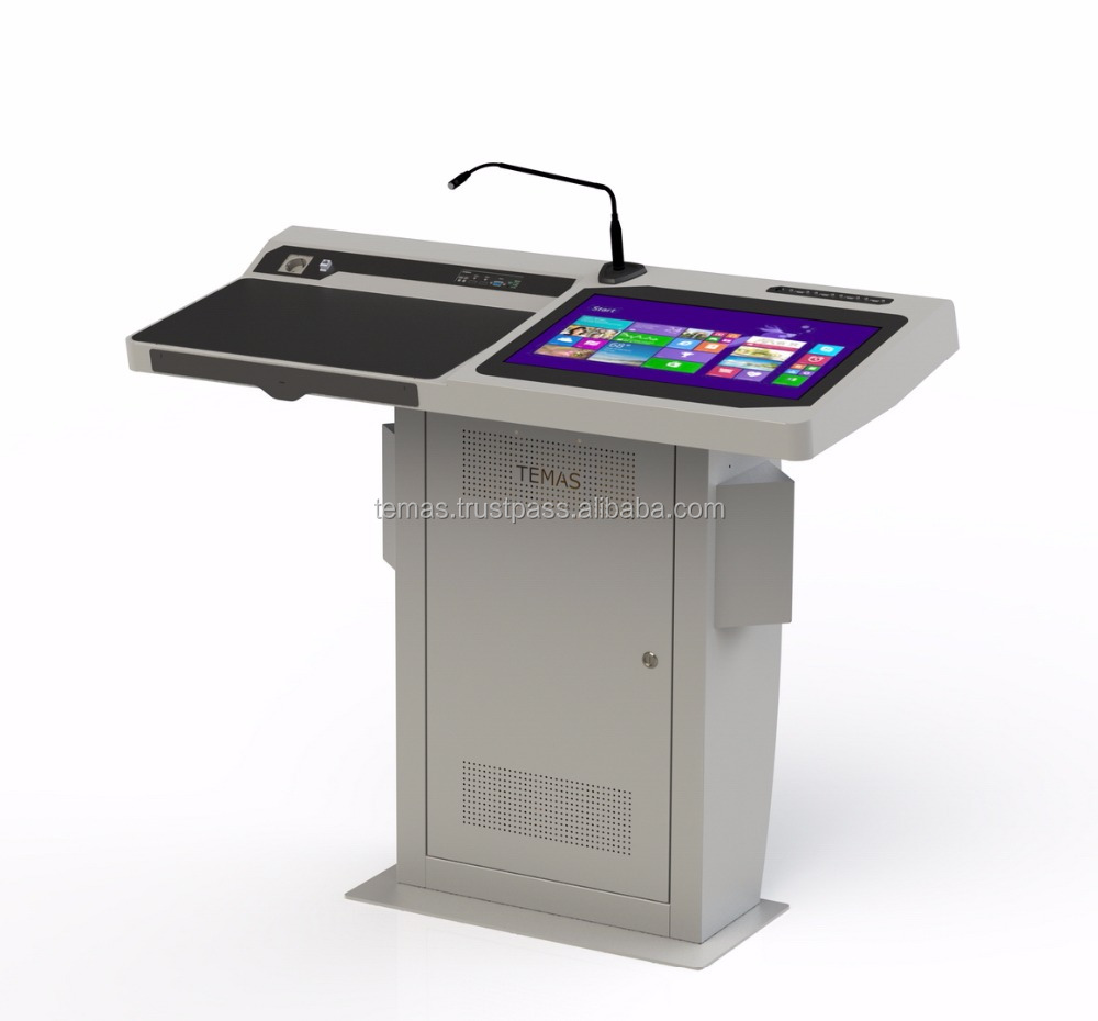 Digital Podium, Lectern for Education School Supply - EK22S Smart Podium