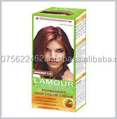 Halal Black Hair Color Cream with Almond and Olive Oil