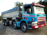 USED TRUCKS - 2000 SCANIA P SERIES 114 C 380 TIPPER (RHD 1801236)