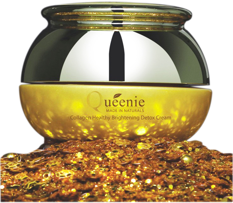 Queenie Collagen Healthy Brightening Detox Cream