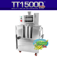 TT1500D Pro 4 Roller Table Top Sugarcane Machine
