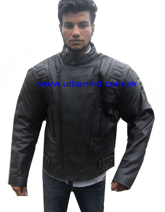 Black Genuine Leather Motorcycle Jackets For Men, Top Quality Motorbike/Motorcycle/Biker Pure Leather Jackets