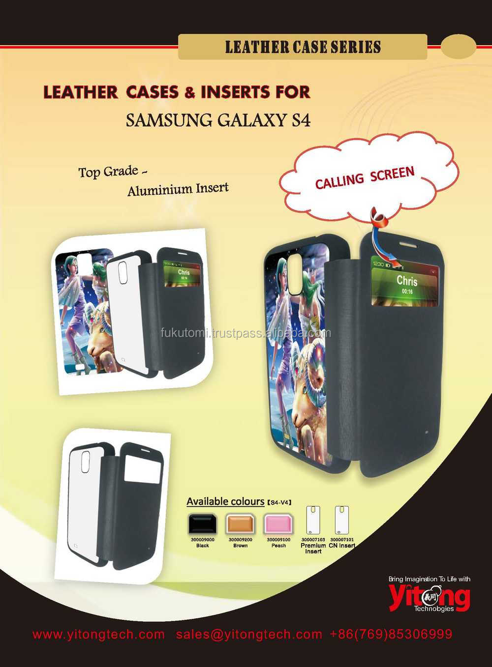 multi models sublimation Leather Case