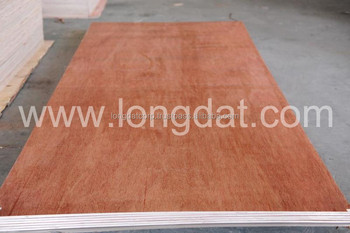 high strong melamine faced bintangor board for indoor and outdoor decoration