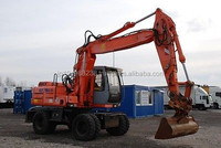 USED MACHINERIES - HITACHI EX165W WHEEL EXCAVATOR (4686)