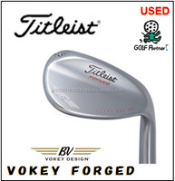 Various types of and Cost-effective cleveland golf clubs and Used Wedge Titleist VOKEY FORGED with good condition