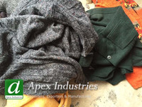 Wool Waste from Used Garments