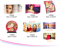 Very popular Photo frame of Acrylic, acrylic sublimation transter photo frame