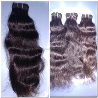 Water waved remy human hair weaving.South indian natural remy human hair. virgin unprocess hair weaving