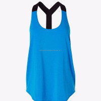 Awesome Gym Cotton Ladies Stringer Singlet