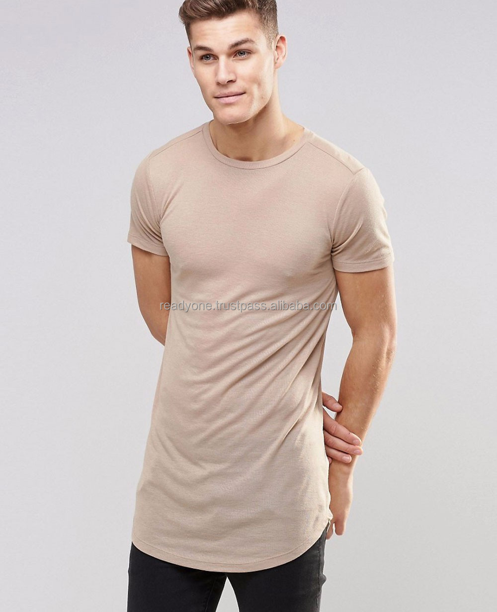 Plain cotton round neck mens 70% polyester 30% cotton t-shirts with contrast pocket online shopping